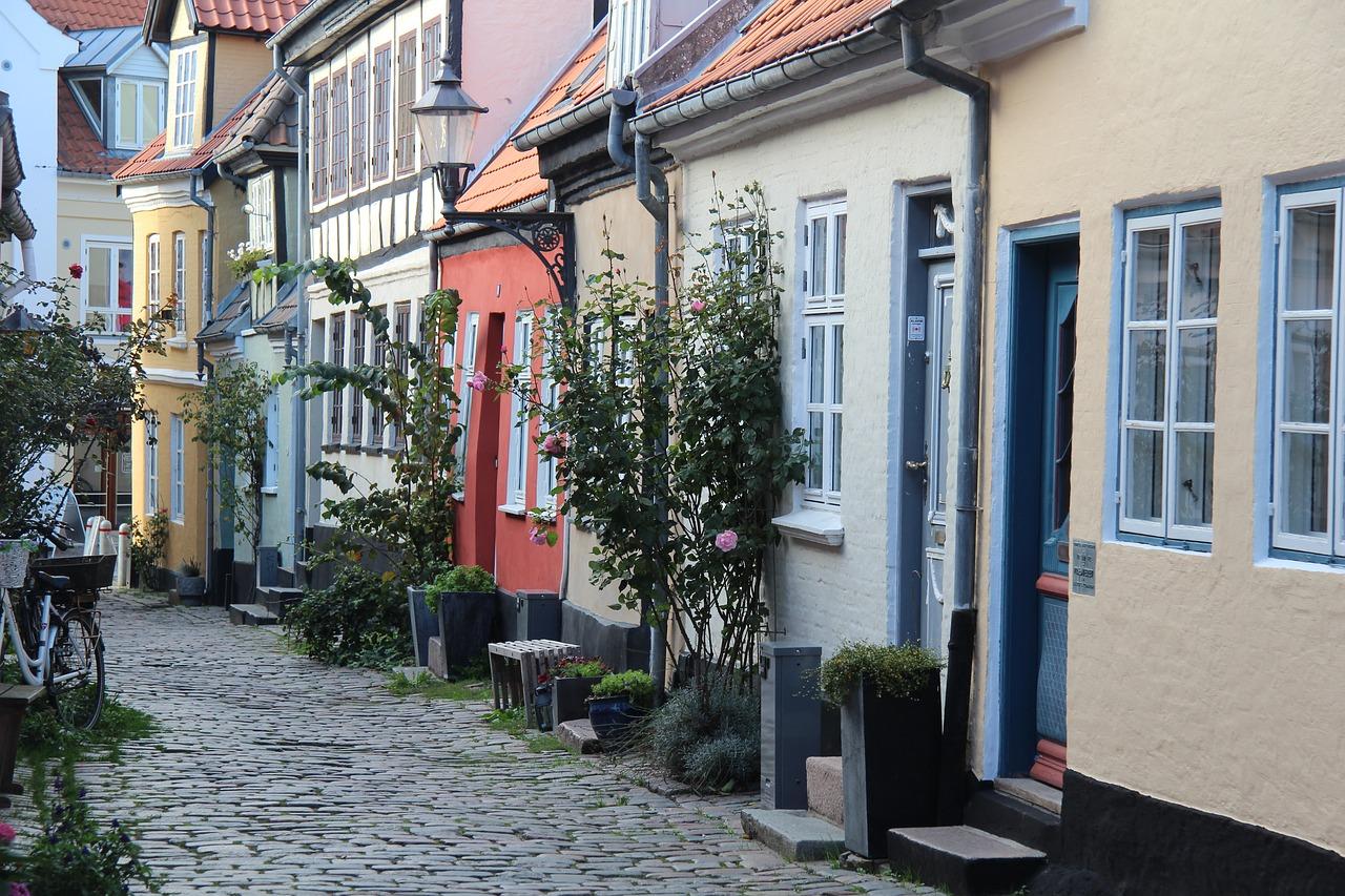 Aalborg Stadt in Dänemark