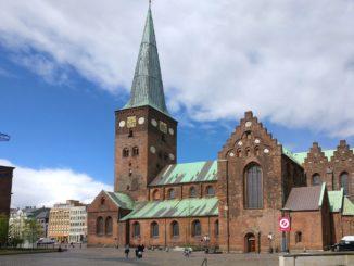 Aarhus Stadt in Dänemark