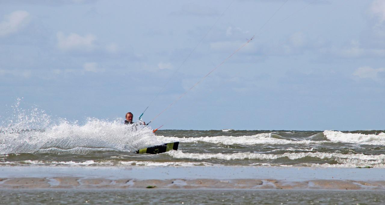 Surfen auf Römö