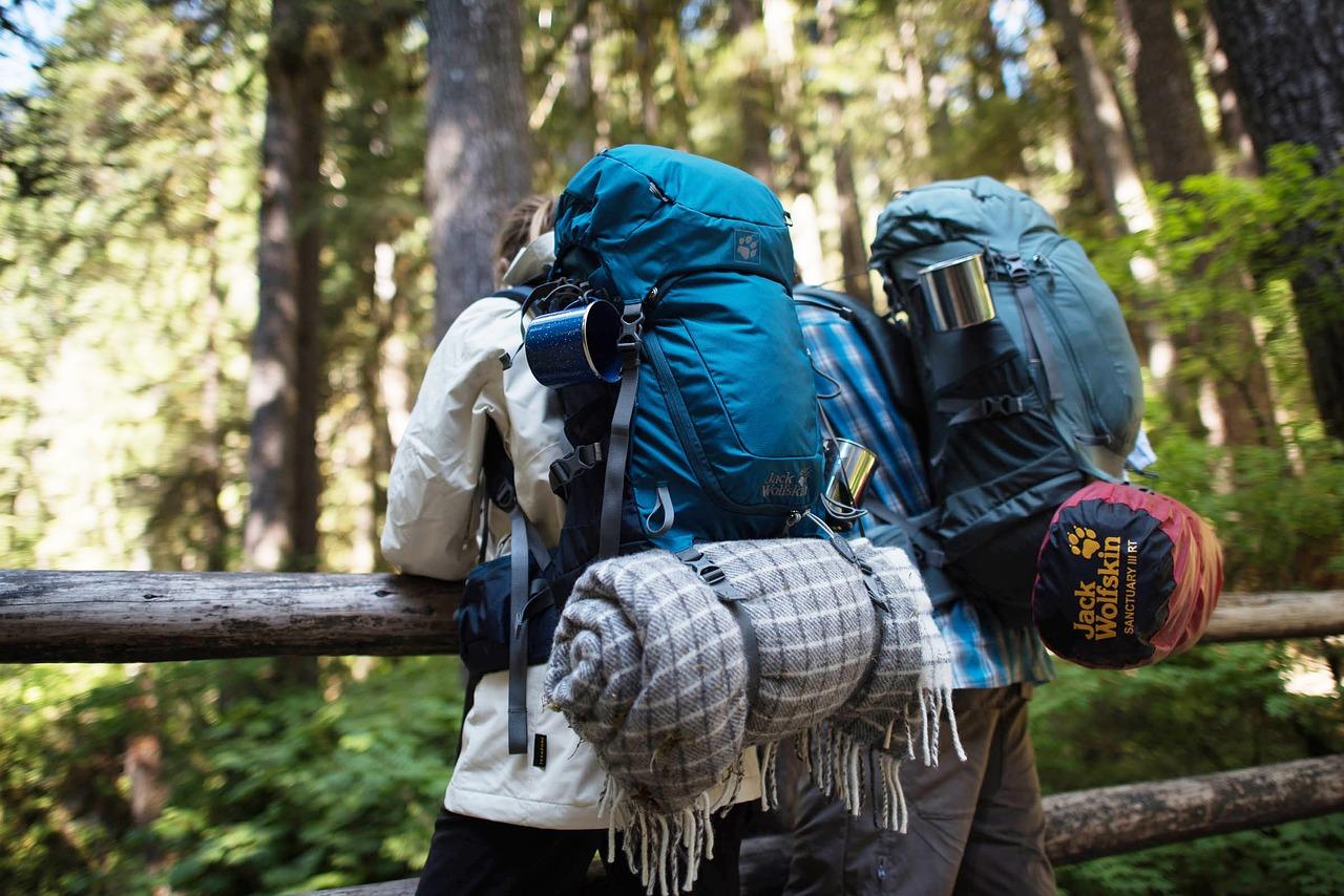 Backpacker Dänemark