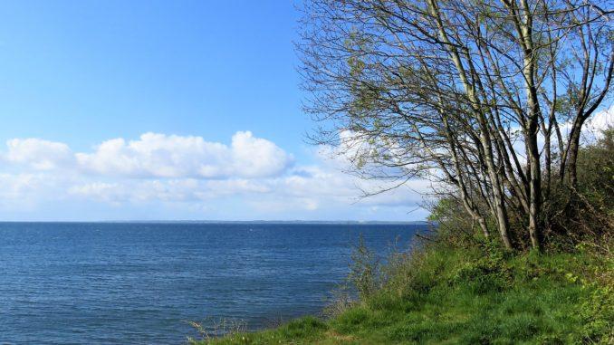 Aussicht auf der Insel Fünen